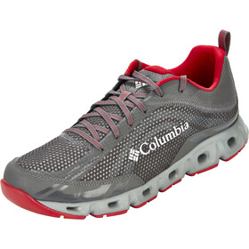 Columbia Drainmaker IV Zapatillas Hombre, city grey/mountain red